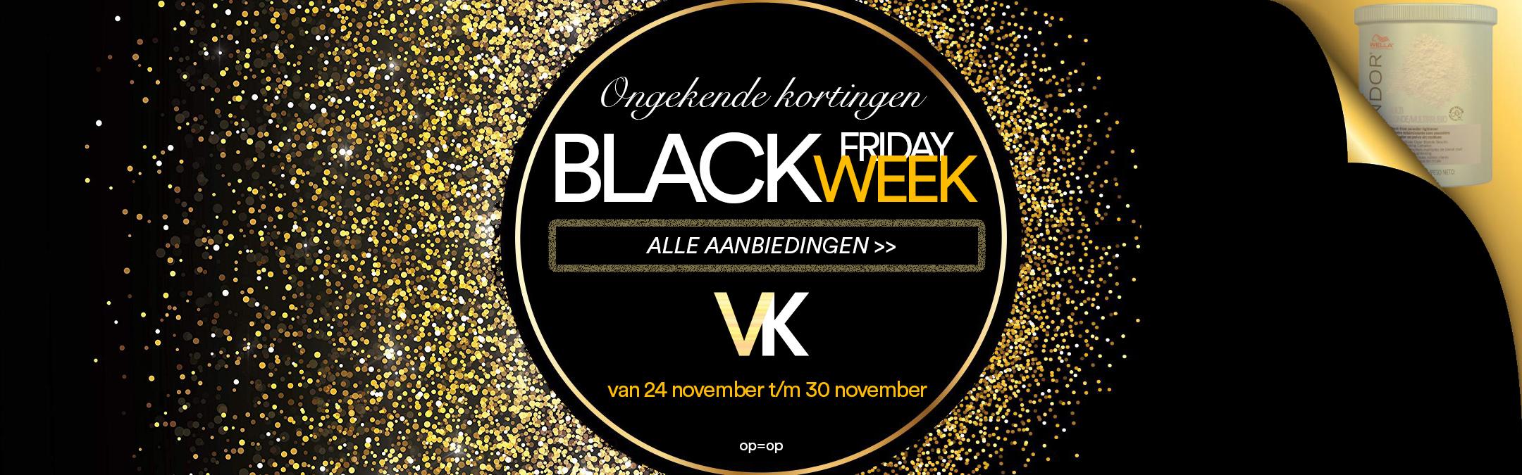 BLACK FRIDAY WEEK 2020 VOOR KAPPERS