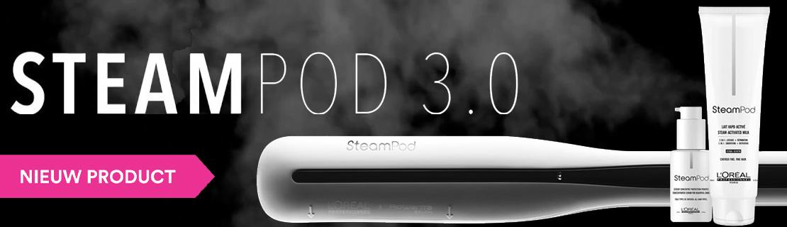 De nieuwe STEAMPOD 3.0 van L'Oréal en Rowenta