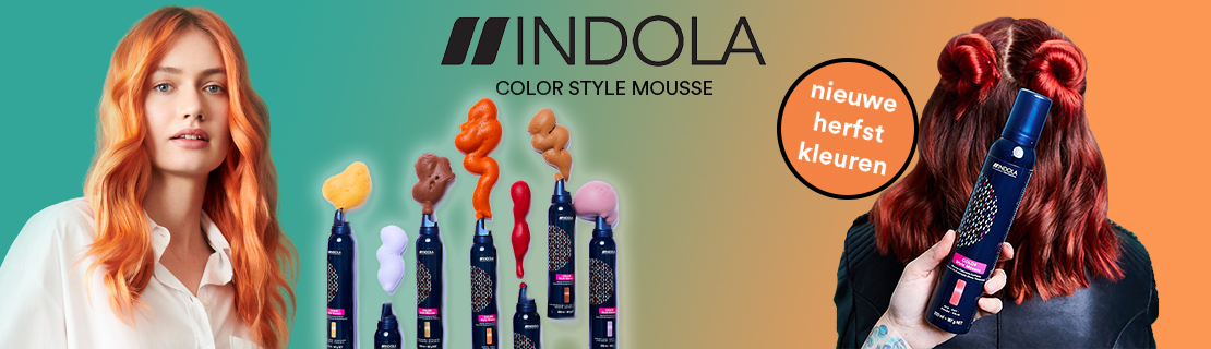 INDOLA COLOR STYLE MOUSSE HERFST