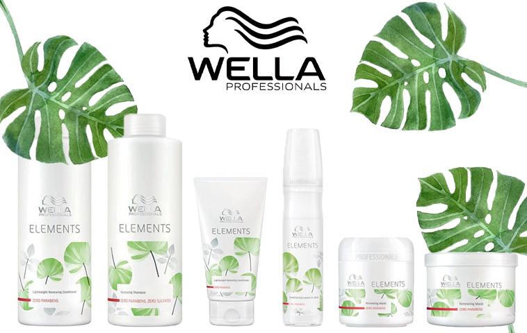 De Lijn Van Wella Elements